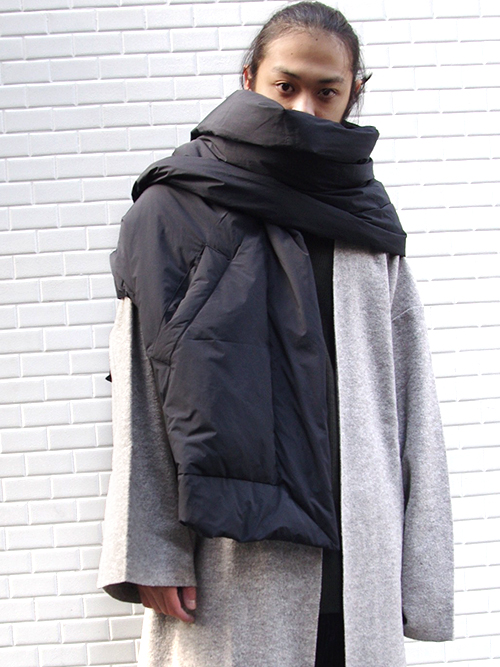 "【18AW】 VOAAOV (ヴォアーブ)  ""BIG down stole"" <ダウンストール>"