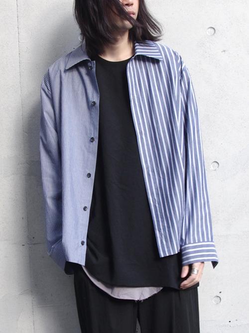 "【19SS】 VOAAOV (ヴォアーブ)  ""stripe box shirt blouson"" <シャツ/ブルゾン>"