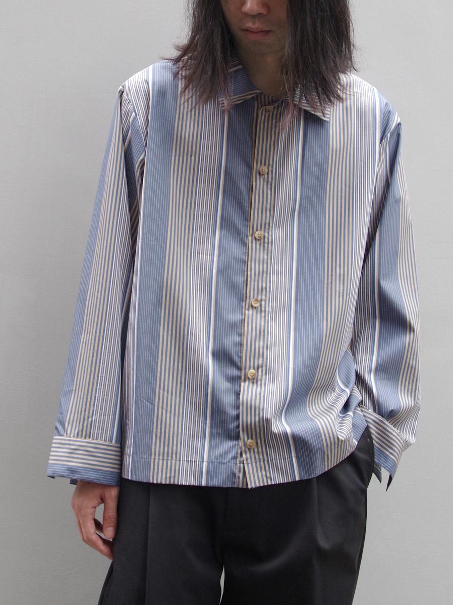 "【19AW】 VOAAOV (ヴォアーブ)  ""stripe box shirt blouson"" <シャツ/ブルゾン>"