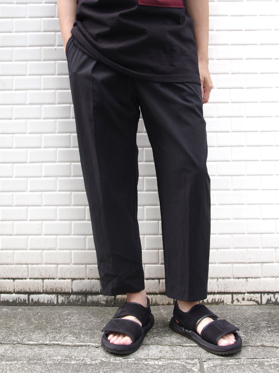 """【SALE:2020SS】 wizzard (ウィザード)  """"TAPERED CROPPED TROUSERS"""" <クロップドパンツ>"""