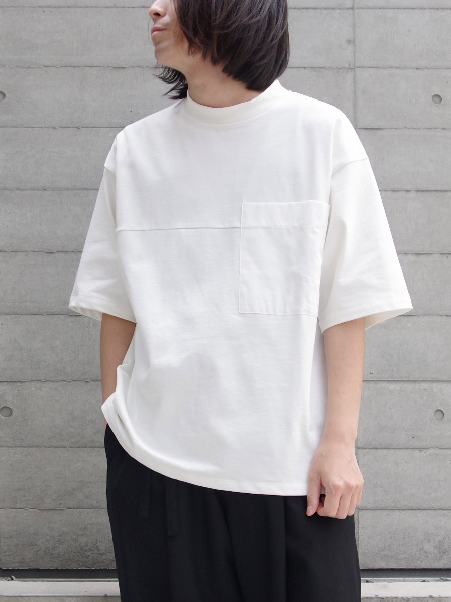 "【2020SS】 wizzard (ウィザード)  ""POCKET T-SHIRT"" <カットソー> - WHITE"
