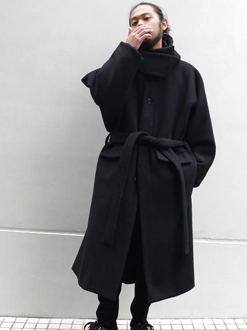 "【18AW】 wizzard (ウィザード)  ""WIDE HOODED COAT"" <コート>"