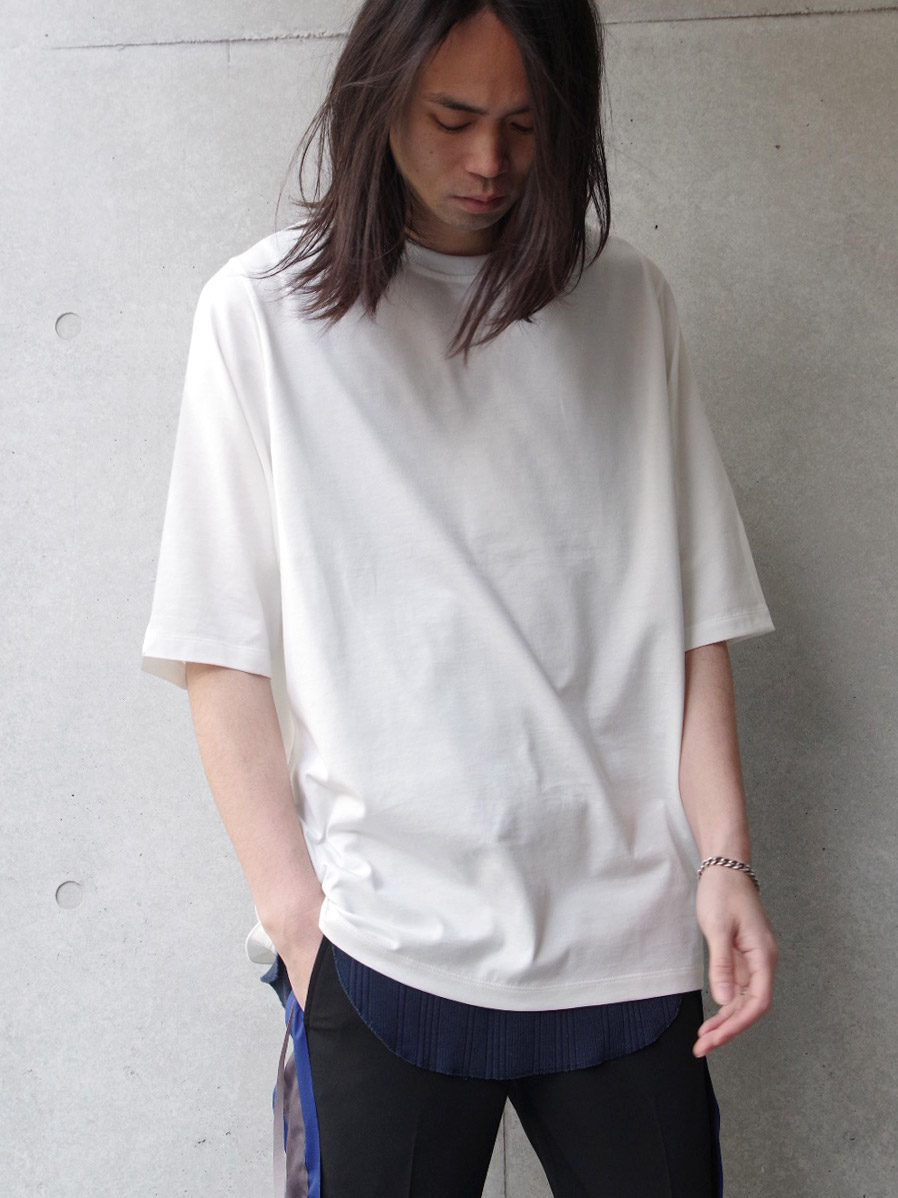 "wizzard (ウィザード)  ""OVERSIZE CUTSEW 19SS"" <カットソー> - WHITE"