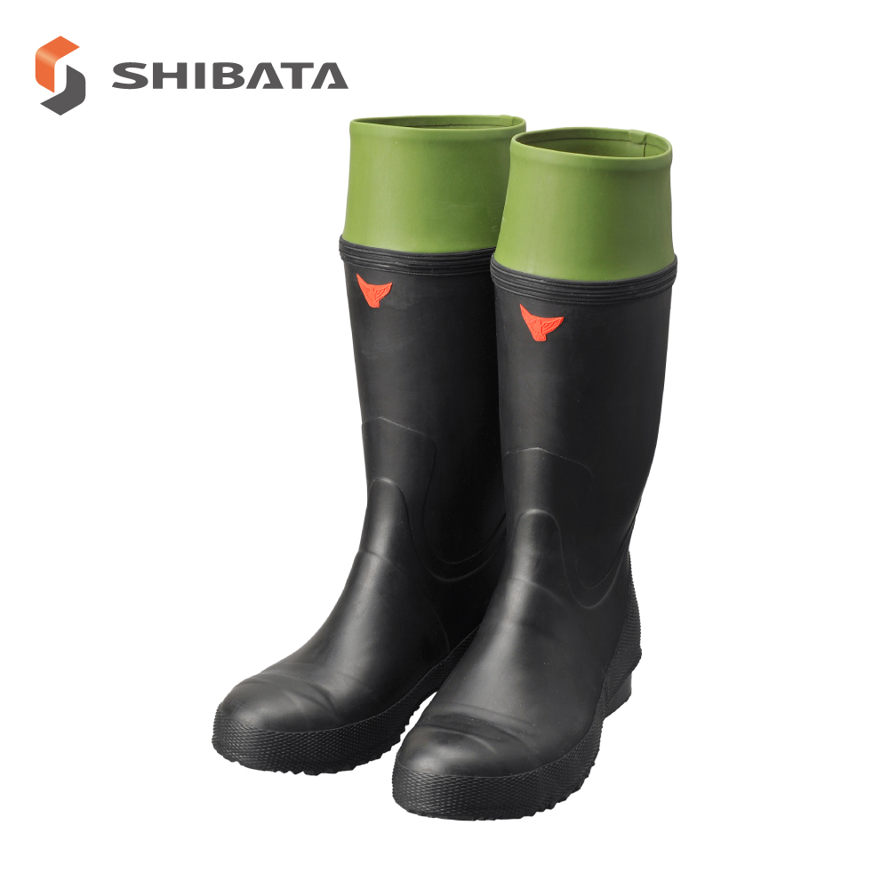 Safety Boots AB010 Rubber Safety Boots without lining  / 安全長靴 AB010 安全作業長裏ナシ (メンズ)