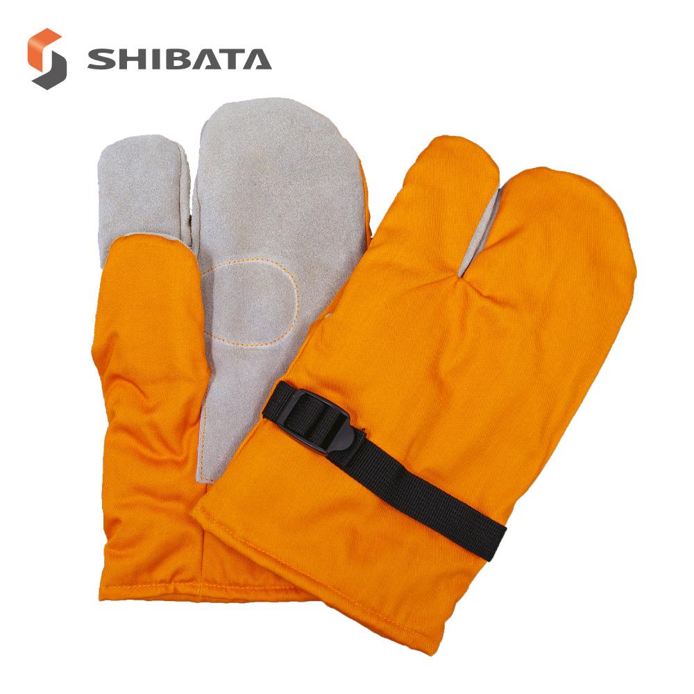 日本製 防寒手袋 3本指