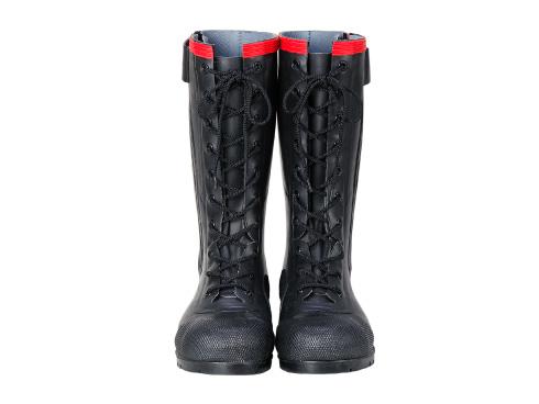 静電気帯電防止長靴 AE030 安全編上長靴導電タイプ