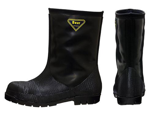 NR041 Cold Resistance Rubber Boots -40℃(Black) / NR041 冷蔵庫長-40℃ (ブラック)