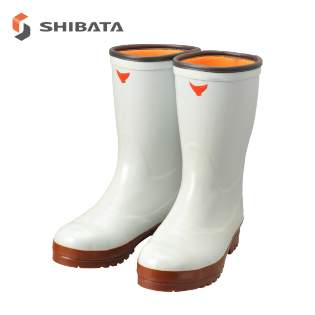 Safety Cold Weather Boots AC040 Safety Cold Resistance Super Clean 7 (White) / 安全防寒長靴 AC040 安全防寒スーパークリーン長7 型(白) (メンズ レディース)