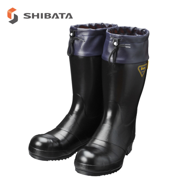 Safety Cold Weather Boots AE021 Safety Bear #8000 Antistatic Cold Protection / 安全防寒長靴 AE021 セーフティベアー#8000静電防寒 (メンズ)