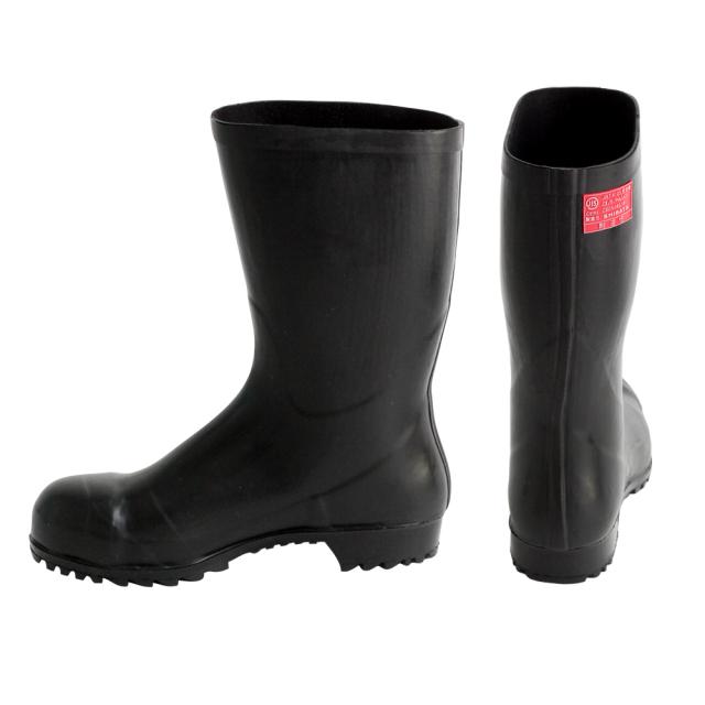 AO011 安全耐油長靴(黒)