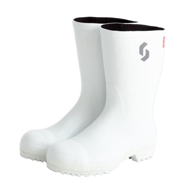 AO021 安全耐油長靴(白)