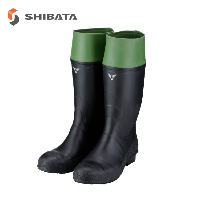 Safety Boots AB011 Rubber Safety Boots without lining / 安全長靴 AB011 安全作業長裏ナシ