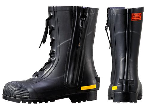 消防団員用ゴム半長靴 SG201