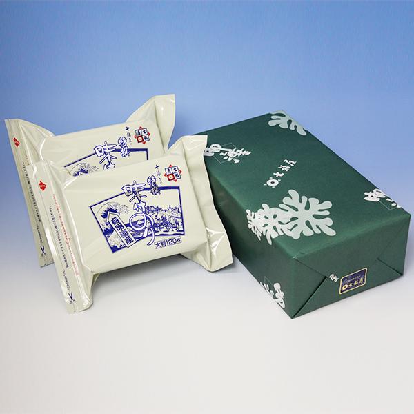 七福屋特撰大判味付海苔120枚(2袋入)