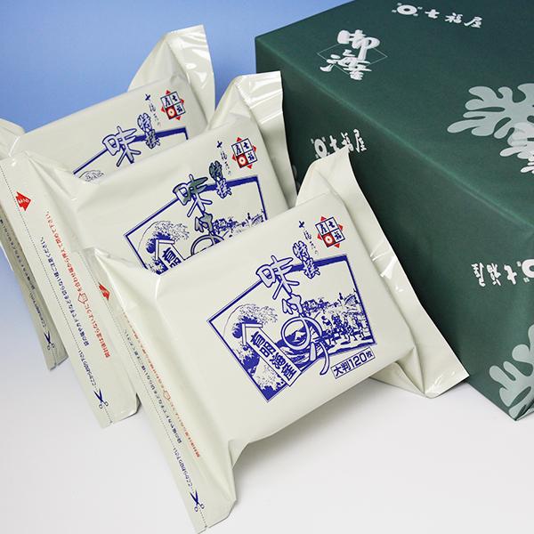 七福屋特撰大判味付海苔120枚(3袋入)