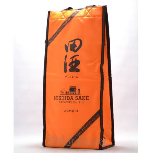 ≪お酒専用エコバッグ≫西田酒造店 田酒【でんしゅ】ボトルクーラーバッグ