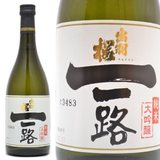 山形県,出羽桜酒造,一路,純米大吟醸酒720mlを通販