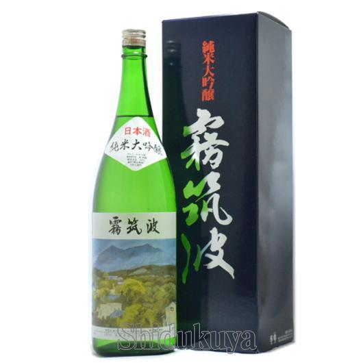 茨城県,浦里酒造店,霧筑波,純米大吟醸,1800