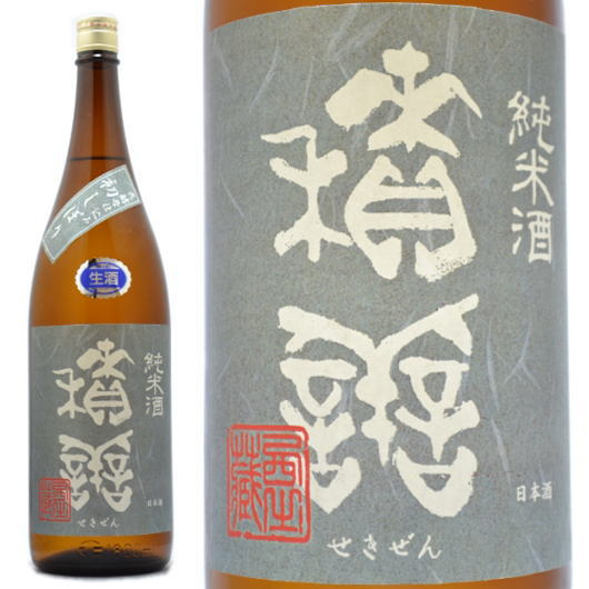 長野県,西飯田酒造,積善,純米初しぼり1800ml