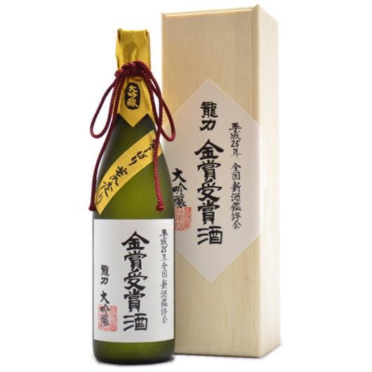 兵庫県,龍力,大吟醸,金賞受賞酒,袋しぼり斗瓶取り720ml