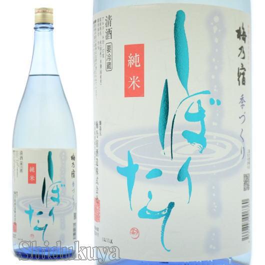 日本酒,梅乃宿酒造,純米,しぼりたて,生原酒