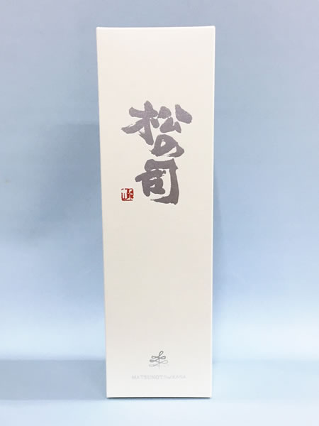 松の司専用ギフトボックス 1.8ℓ1本入り