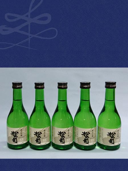 松の司純米吟醸ギフトセット 純米吟醸300ml 5本の詰合せ