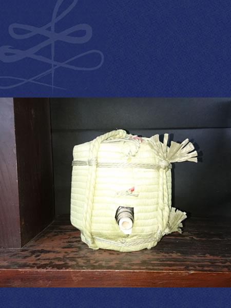 松の司 菰樽 こもたる 純米吟醸 楽 3600ml 特約店限定品  裏