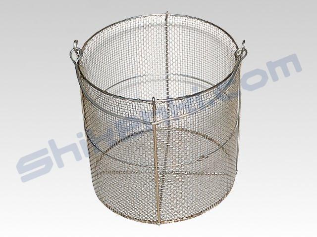 骨材安定性試験用ステンレス製金網籠①