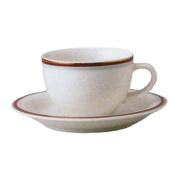 ティーカップソーサー マリーン マロン 洋食器 業務用食器 商品番号:3b539-23