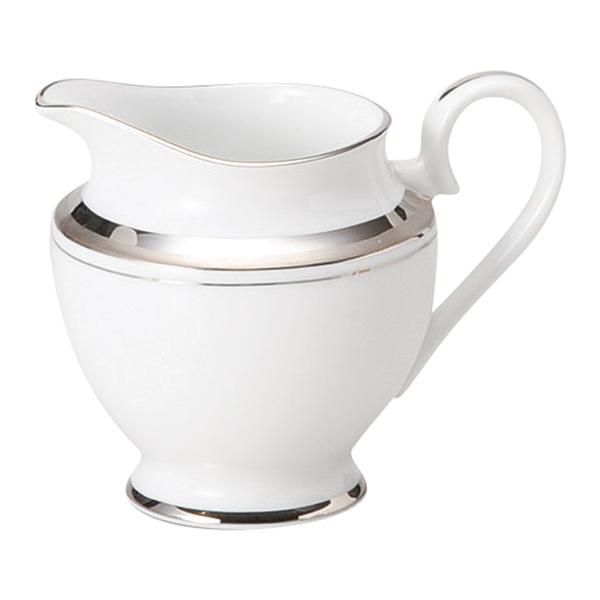 ミルクピッチャー シルバーリッチ クリーマー 陶器 業務用 商品番号:9d69107-038