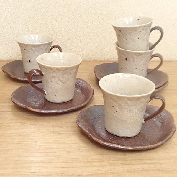 コーヒーカップソーサー 5客セット 大樹