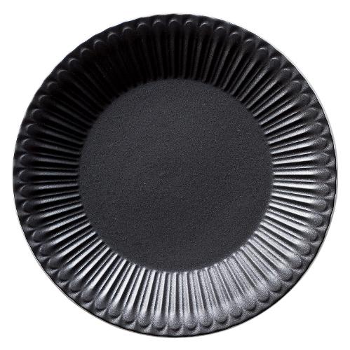 24cmプレート ストーリア クリスタルブラック 商品番号:k16731004