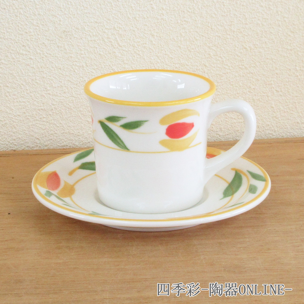コーヒーカップソーサー テンポ