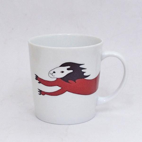 マグカップ サーカスマグ ライオン 陶器 業務用食器 商品番号:3a590-10-43d