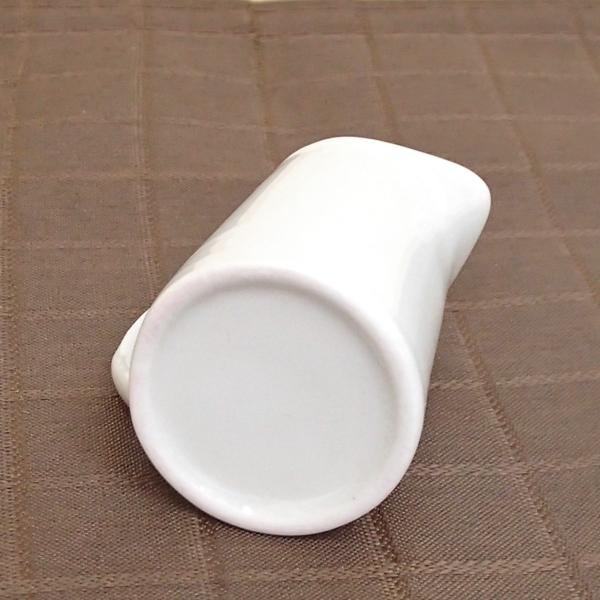 ミルクピッチャー 2人用 白 クリーマー 陶器 業務用食器 商品番号:3b545-45