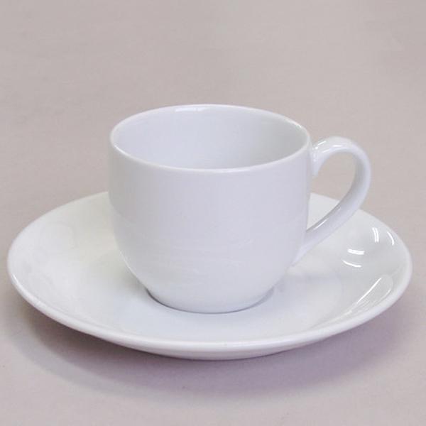 エスプレッソカップソーサー 白 ダイヤセラム 強化磁器 洋食器 業務用食器 商品番号:3d60869-476