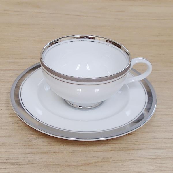ティーカップソーサー シルバーリッチ 洋食器 業務用食器 商品番号:3d62240-036