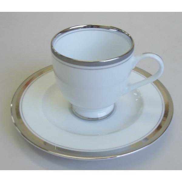 アメリカンコーヒーカップソーサー シルバーリッチ 洋食器 業務用食器 商品番号:3d62244-036
