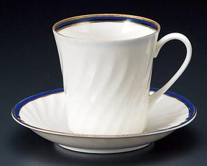 アメリカンコーヒーカップソーサー ニューボン ブルー 洋食器 業務用食器 商品番号:3d64829-446
