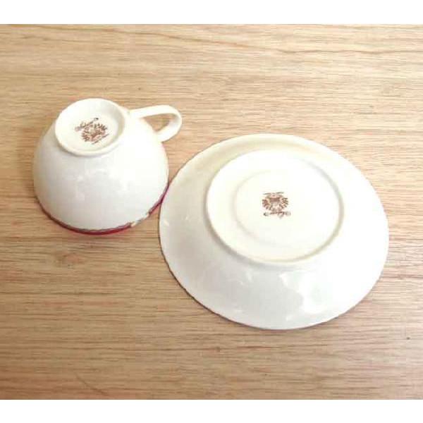 ティーカップソーサー ニューボン サクラ 洋食器 業務用食器 商品番号:3d65007-446