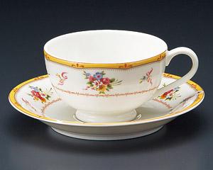 ティーカップソーサー ニューボン ブランシェ 洋食器 業務用食器 商品番号:3d65015-446