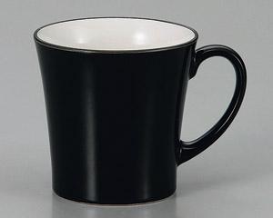マグカップ シャインブラック 陶器 業務用食器 商品番号:3d66021-406