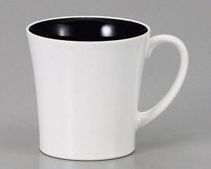 マグカップ シャインホワイト 陶器 業務用食器 商品番号:3d66022-406