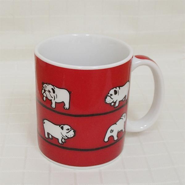 マグカップ HANA ブルドッグ 陶器 業務用食器 商品番号:3d66102-446