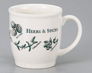 マグカップ ニューボン ハーブ 陶器 業務用食器 商品番号:3d66124-236