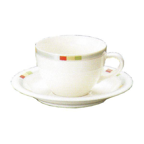 ティーカップソーサー ニューボン グレース 洋食器 業務用食器 商品番号:3y766-13-682