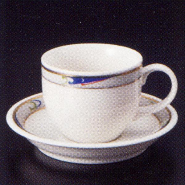 エスプレッソカップソーサー ニューボン ブルーウェーブ 洋食器 業務用食器 商品番号:3y769-03-682
