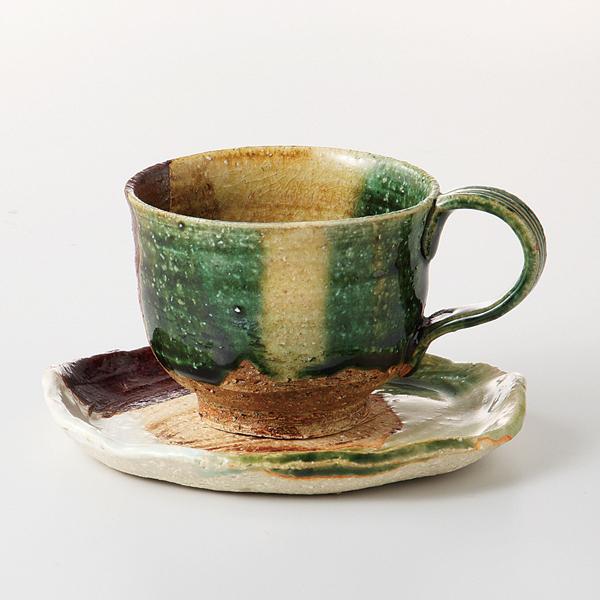 コーヒーカップソーサー 彩織部 陶器 和食器 業務用食器 商品番号:6a24-52