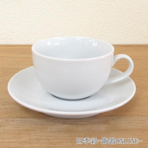 カプチーノカップ&ソーサー ホテルベーシック 洋食器 業務用食器 商品番号:9a772-6-43g
